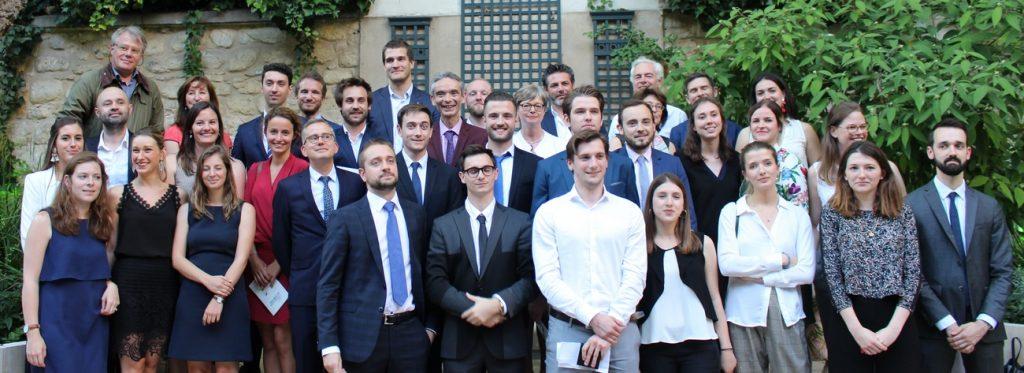 Participants de l'édition 2018 : Christine Hennion, député marraine, étudiants et responsables de Sciences Po Bordeaux et Grenoble, EGE, ICN Business School, Paris Dauphine ; EDF, FEDREC, FFMKR, FENVAC, LafargeHolcim